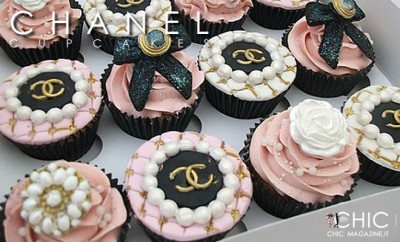 CHANEL Cupcakes - Dolcetti stilosi