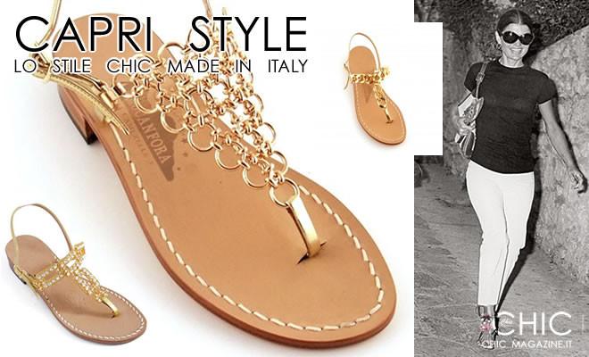 Capri  Bellezza e icona di stile per sandali e pants – CHIC Magazine.it a0c757e1843
