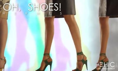 Oh shoes! Collezione Scarpe ss 2014 di Hermès