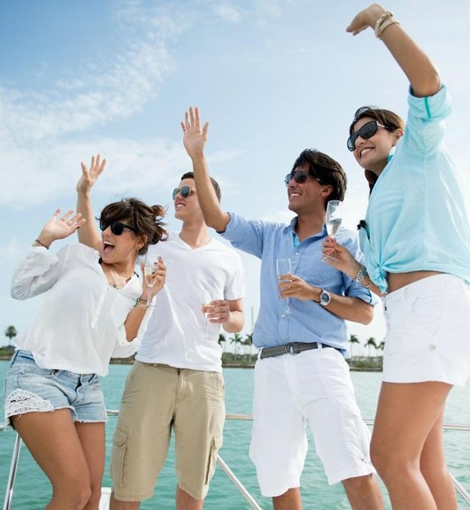 In barca: galateo e bon ton