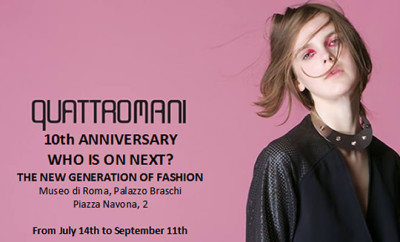 "Quattromani a Roma per l'evento moda ""Who is on Next?"""